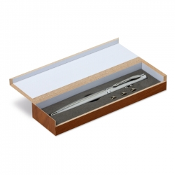 Led&laserpointer in wooden box