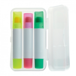 Set of 3 gel highlighters