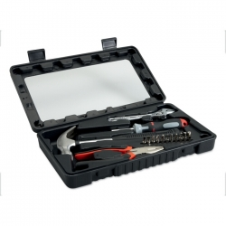 15 pcs toolset in plastic box