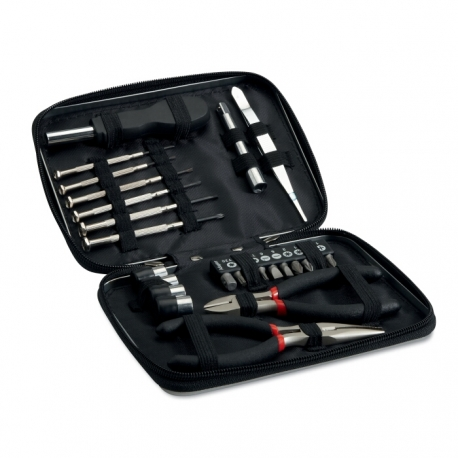 26 pcs tool in aluminum case