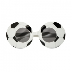 Party glasses football shape
