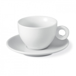 Capucinno cup and saucer