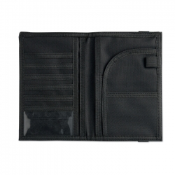 Luxury travel wallet