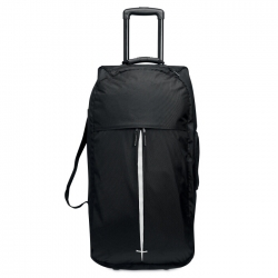1680D poly travel bag trolley