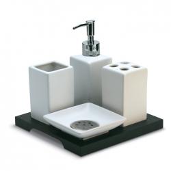 4-piece bathroom set