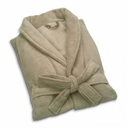 Long-sleeved bath robe