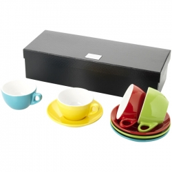 4 piece cappuccino set