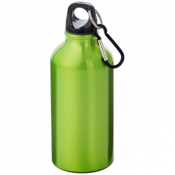Drinking bottle with carabiner