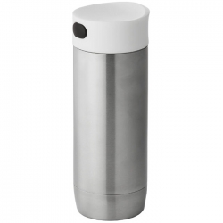 Isolating vacuum non leaking tumbler