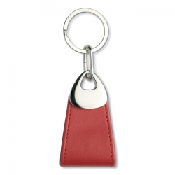 Oval shaped key ring