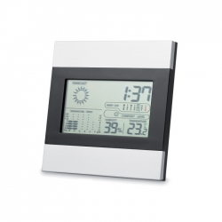 Weather station and clock
