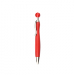 Ball pen with ball plunger