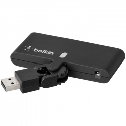 Swivel 4-Port travel USB hub