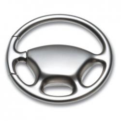 Metal key ring wheel shape