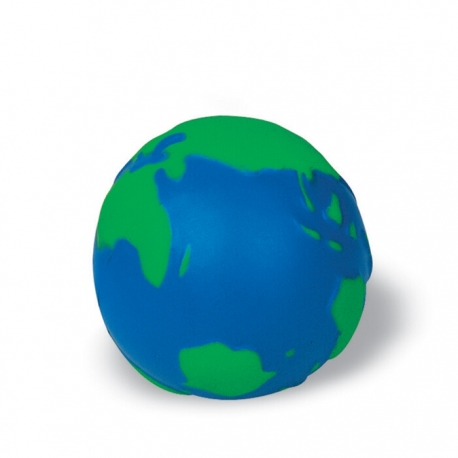 Anti-stress ball globe