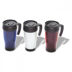 Plastic insulation mug 400 ml