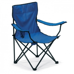 Outdoor chair in 600D polyester clothing and iron frame