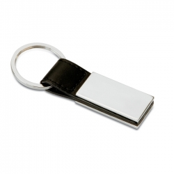 PU and metal key ring
