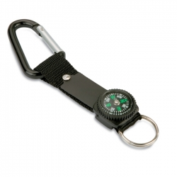 Key ring with carabiner