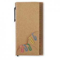 Sticky notes in case