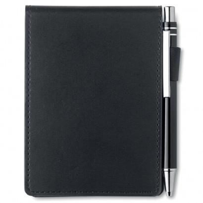 A7 notebook in PU pouch
