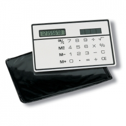 Solar slim card calculator