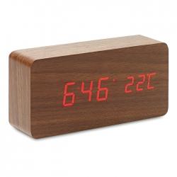 LED clock in MDF