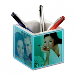 Penholder picture frame