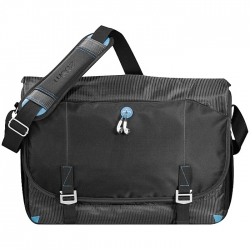 Checkpoint friendly 17'' laptop messenger bag