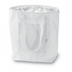 Foldable cooler shopping bag