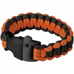 Emergency paracord bracelet