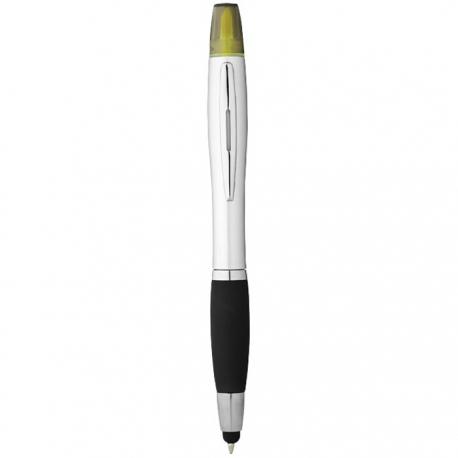 Nash stylus ballpoint pen & highlighter