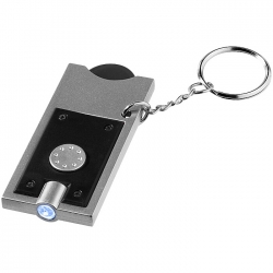 Coin holder key light