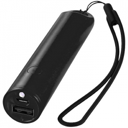 Powerbank with lanyard and light 2200mAh