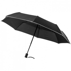 21'' 3-Section auto open/close umbrella