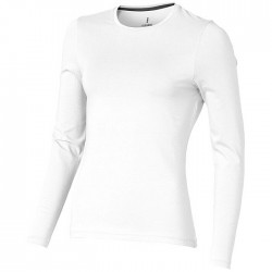 """Ponoka"" long sleeve ladies t-shirt"