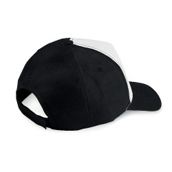 5 panel cap / velcro closure / 130 gsm polyester /