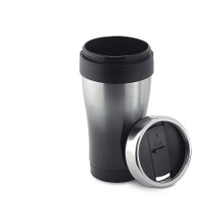 Stainless steel, double walled travel mug 455 ml