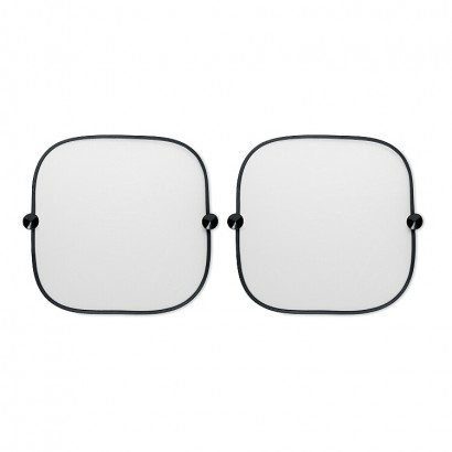 Car window shade (set of 2) with 2 suctions