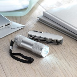 Set torch with knife 11 multifunctional