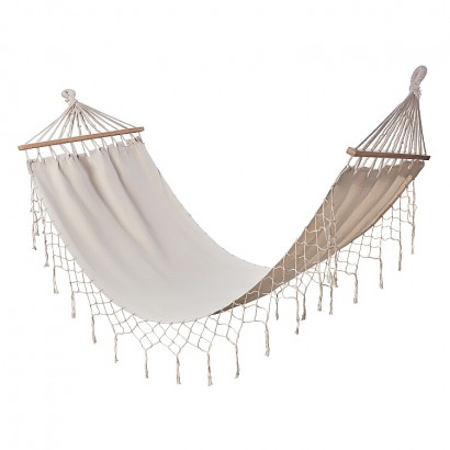 Hammock (80x200) canvas incl wooden frame and canv