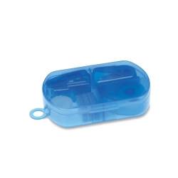 Stationery set in plastic box