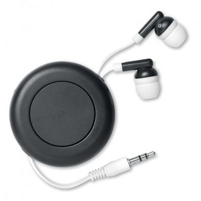 Exctractable earphones