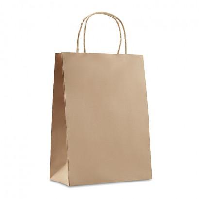 Gift paper bag. Medium size   (22x11x30cm)