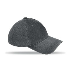 Twill cotton washed sandwich cap, 6 panels Velcro