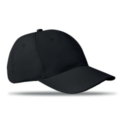 6 panel, structured cap, velcro closure) 100% cott