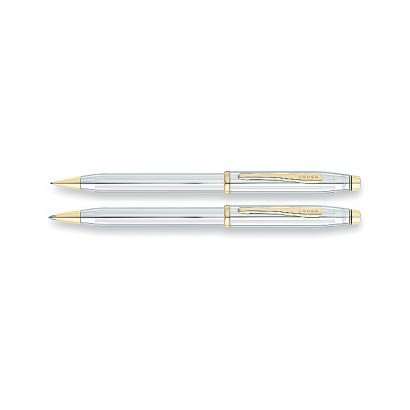 Century II Medalist Pen and Pencil Set With 23K Gold Plated appointments