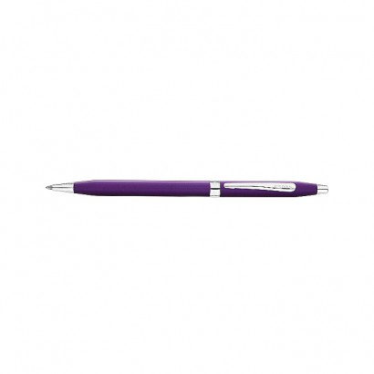 Century Colours Violet Ballpoint Pen With Chrome Plated appointments