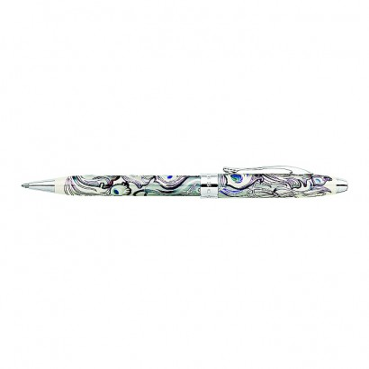 Masquerade Raven Black Ballpoint Pen With Chrome Plated appointments