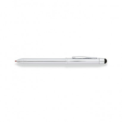 Tech3 Lustrous Chrome Multi-function pen With Chrome Plated appointments